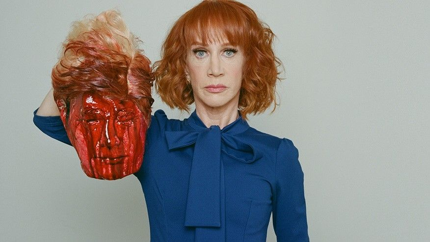 EVIL: Kathy Griffin Channels ISIS By Beheading Trump [VIDEO]