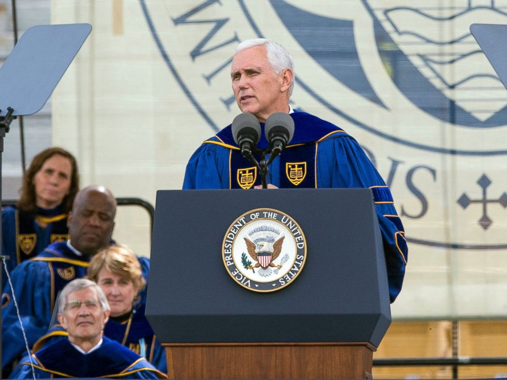 Notre Dame Graduates Stage Childish Walkout Over Mike Pence Speech [VIDEO]