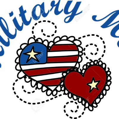 Thinking About  The Military Mom on Mother's Day