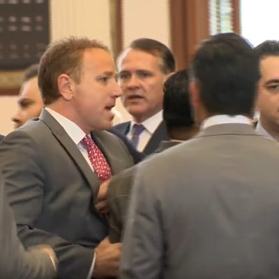 Texas Lawmakers Scuffle After GOP Rep Calls ICE On