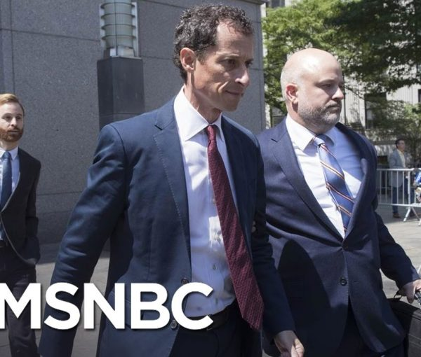 Anthony Weiner Pleads Guilty, Now A Registered Sex Offender [VIDEO]