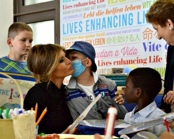 Melania Trump in Italy Speaks Italian, Comes Out as Catholic