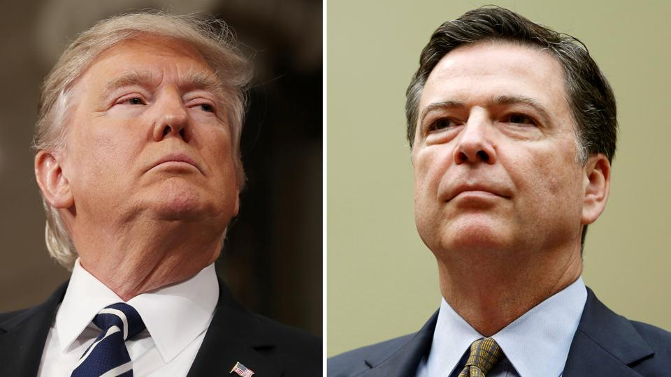 Comey Called Trump Crazy and Then Sends Self Serving Farewell Letter to FBI