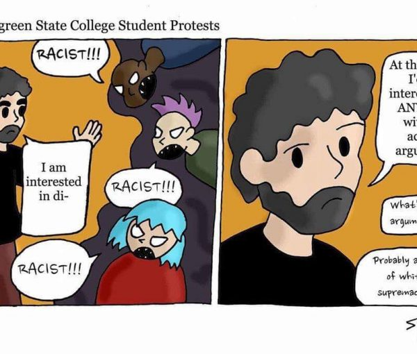 #EvergreenStateCollege Professor #BretWeinstein Opposed Segregation And SJW Demand His Firing [VIDEO]