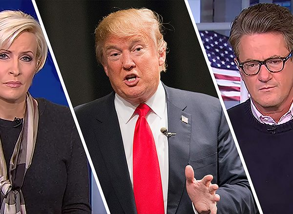 Did Donald Trump try to blackmail Mika and Joe?