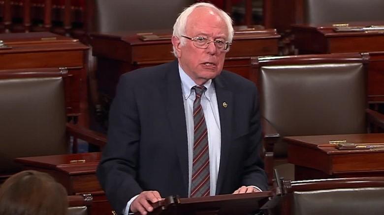 Senator Bernie Sanders Strongly Condemns Gunman Who Shot Congressman Steve Scalise [VIDEO]