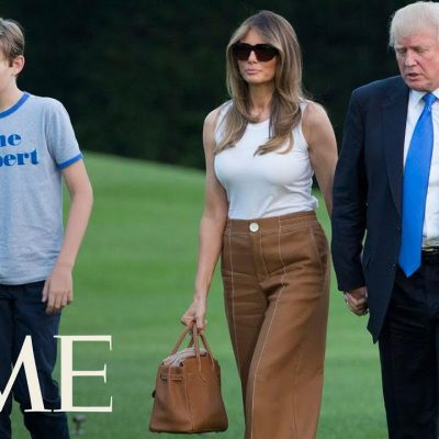 Barron Trump Is A Normal Kid, Media Flips Out [VIDEO]