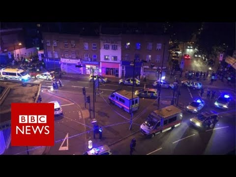 #FinsburyPark: Pedestrians Run Over Near Mosque [VIDEO]