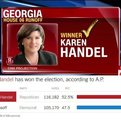 Liberal Meltdown Over #GA06 Loss And It's A Beautiful Thing [VIDEO]