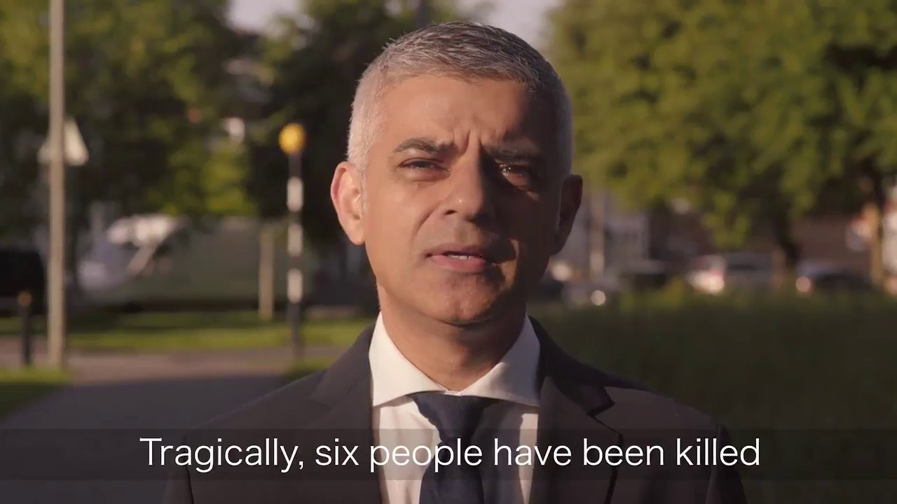 #LondonAttacks: London Mayor Khan Brushes Off Trump Tweet [VIDEO]