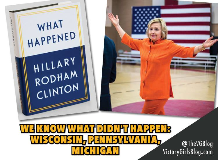 #WhatHappened: Hillary Clinton's New Memoir Has The Most Awkward Title Ever [VIDEO]