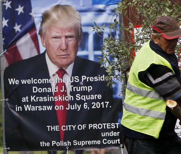 Donald Trump Praises Poland In Warsaw Speech [VIDEO]
