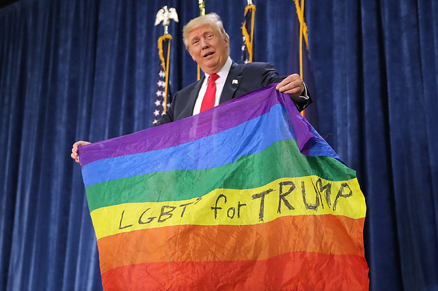 Buzzfeed is Butthurt Since Trump Didn't Mark Gay Pride Month. [VIDEO]