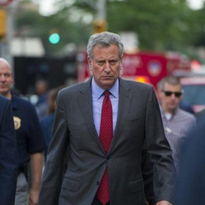 #G20Summit: NYC Mayor Bill De Blasio Chooses Protesting Trump Over Slain NYPD Officer [VIDEO]