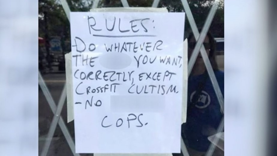 Gym Owner Slams Cops, Crossfit and Capitalism