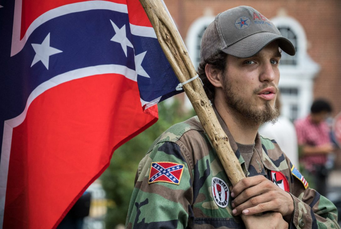 There Were Not One but Two Supremacist Groups from #Charlottesville. [VIDEO]