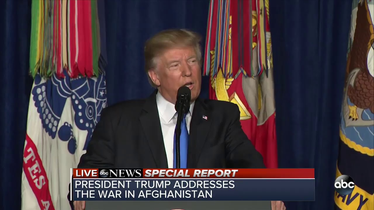 "Trump On #Afghanistan: ""We Will Fight To Win"" [VIDEO]"