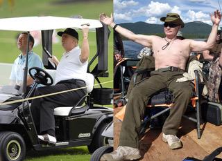 Putin Throws Shade at the Vacationing President Trump [VIDEO]