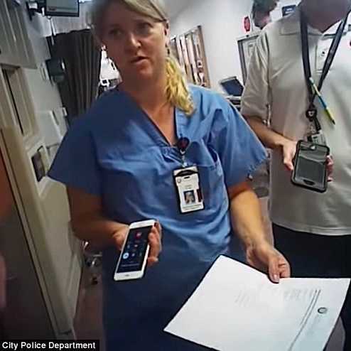Utah Nurse Alex Wubbels Arrested For Following The Law [VIDEO]
