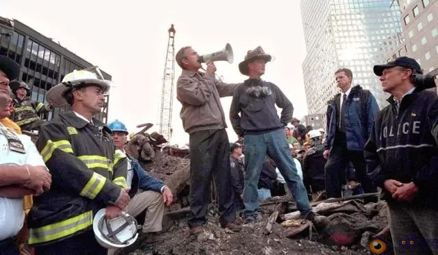 Remembering 9/11: The George W. Bush Bullhorn Speech