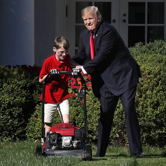 President Trump Lets A Kid Fulfill A Dream, But Leftist Twitter Hates Nice Stories [VIDEO]