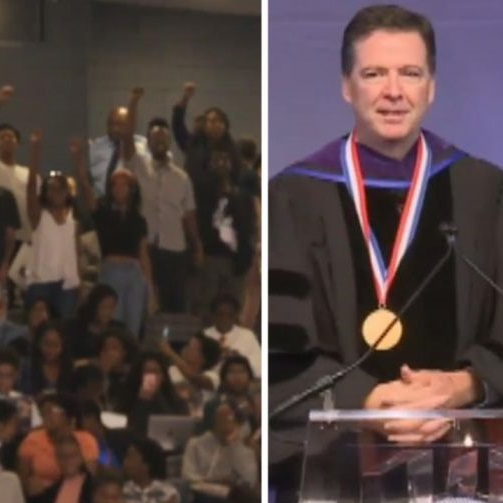 Comey Speech At Howard University Gets Heckled, Democrats Reaping What They Have Sown [VIDEO]