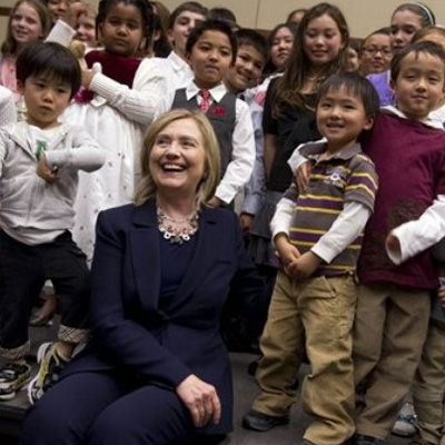 Hillary Shares Atrocious Video, Because All Your Children Are Belong to Her [VIDEO]