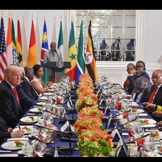 Trump Talks Africa at the United Nations. Liberals Faint
