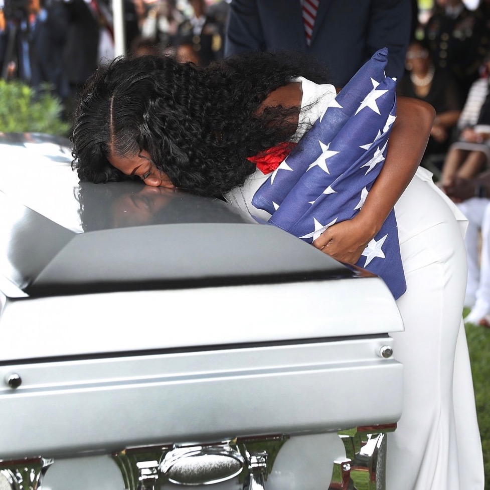 Gold Star Widow Myeshia Johnson's GMA Interview: Trump's Call