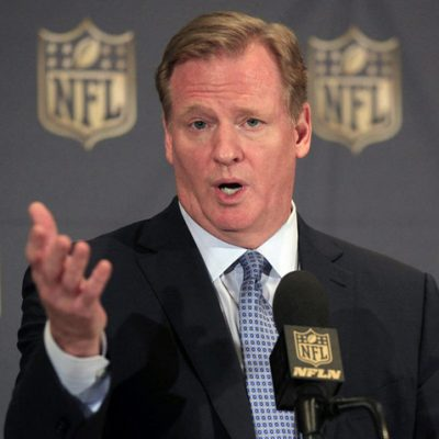 #TakeAKnee: Cowardly Roger Goodell Won't Require Players to Stand for National Anthem