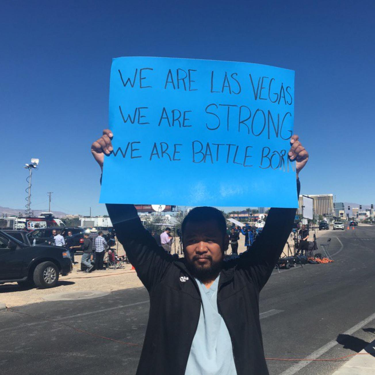 #LasVegasShooting: Amid Chaos and Terror, Stories of Heroism Emerge