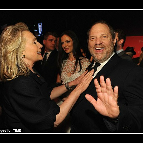 "Irony Alert! Clinton ""Shocked"" at Weinstein Charges"