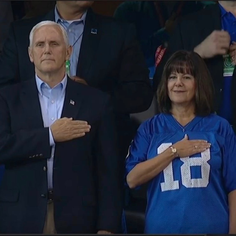 NO, Vice President Pence's National Anthem Walkout Was NOT A Stunt [VIDEO]