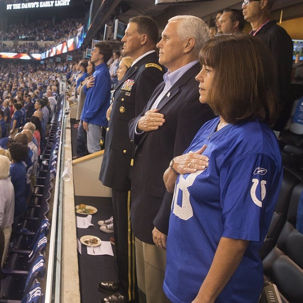 VP Pence Leaves NFL Game When Players Take A Knee During National Anthem [VIDEO]