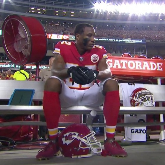 Kansas City Chiefs Can't Even Stand Together For Anthem After #LasVegas Shooting [VIDEO]