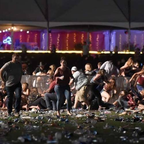 Crazy and Evil: the shooter in Vegas was both