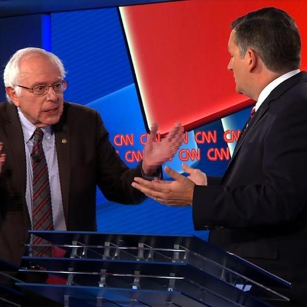 Cruz and Scott use Cantwell and Sanders as Floor Mops in CNN Debate [VIDEO]