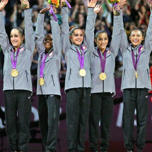 Olympic gymnast Gabby Douglas said what?