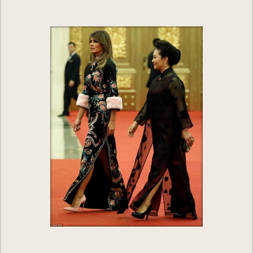 Melania Trump Defines Elegance at State Dinner in China