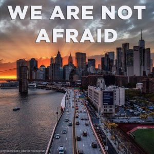 #NYCStrong: NYC Stands Strong and Defiant