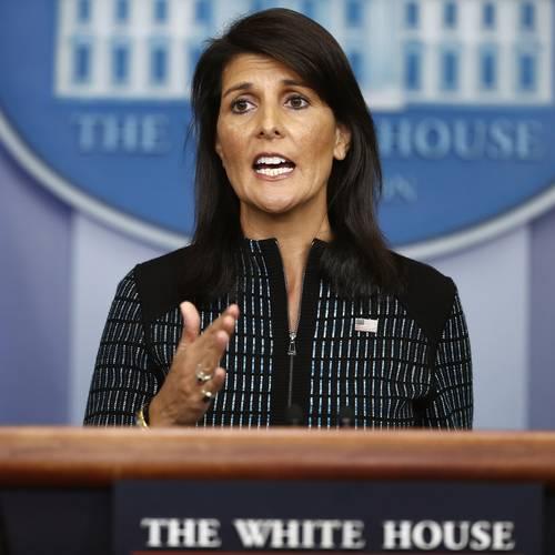 Nikki Haley responds to North Korean Missile Launch
