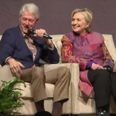 If Bill Clinton Tweeted As President, What Would His Handle Be? [VIDEO]