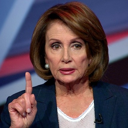 Partisan Politician Pelosi Had a Really Bad Day