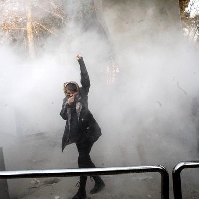 #IranProtests2017: Regime Cracks Down, Media Yawns, Hillary Says Something Stupid [VIDEO]