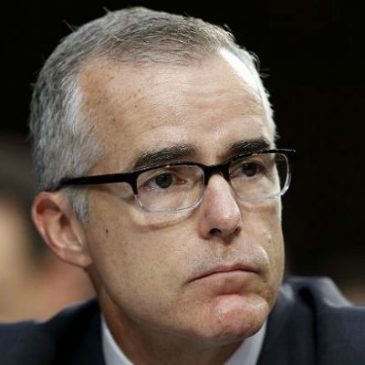 Deputy FBI Director McCabe Planning on Full Benefit Retirement