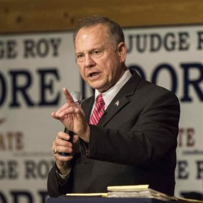 Failed Senate candidate Roy Moore files lawsuit crying voter fraud