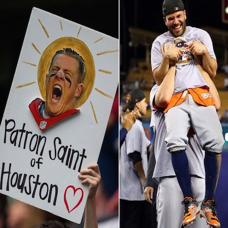 SI's Athletes of the Year are Houston Strong