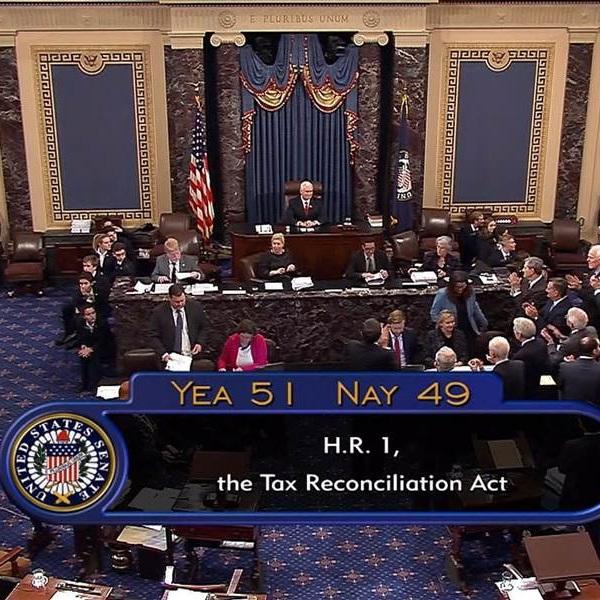 Senate Tax Bill Repeals Obamacare Mandate [VIDEO]