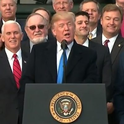 Tax Bill Passes, Democrats Cry