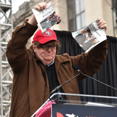 State of the Union To Be on Tuesday, Michael Moore to Have a Tantrum on Monday. [VIDEO]